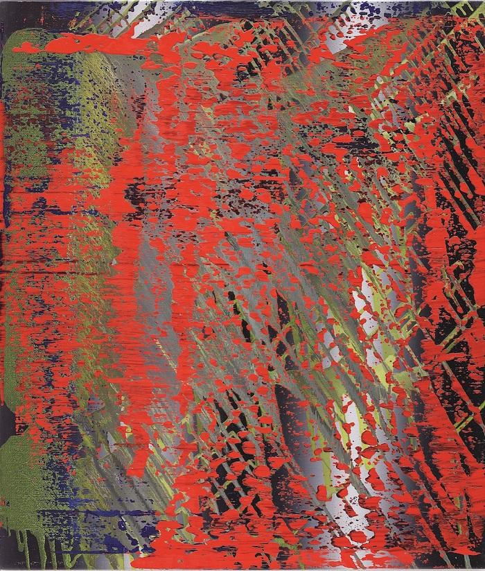 Герхард Ріхтер, Abstraktes Bild (682-4) (1988)